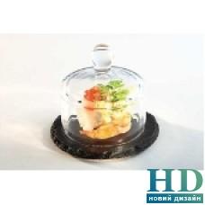 Дошка зі сланцю з кришкою d 10,5 см