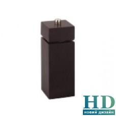Млинок для перцю квадратний чорний, серія Trento 165 мм
