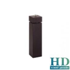 Млинок для перцю квадратний чорний, серія Trento 245 мм