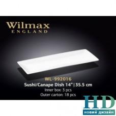 Блюдо для суши / канапе Wilmax (355 мм)