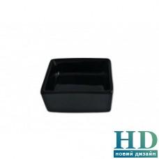 Салатник квадратный черный FoREST Fudo 754089 (6,5 см, 50 мл)