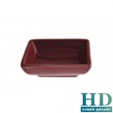 Блюдо для соевого соуса красное FoREST Fudo 751508 (7,5 см, 40 мл)
