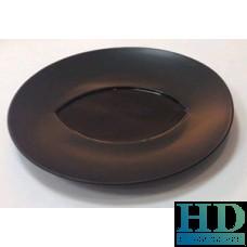 Блюдо круглое черное - F2592BY-12L