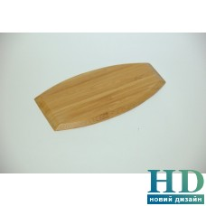 Бамбуковая подставка овальная 11,5