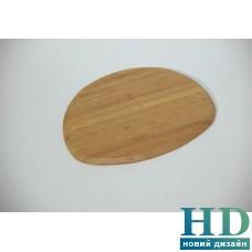 Бамбуковая подставка овальная 7,75
