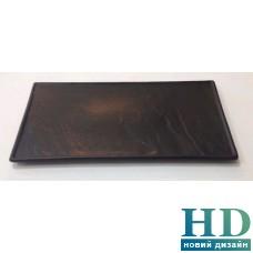 Тарелка прямоугольная черная матовая - F2856BK-14