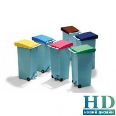 Бак для мусора Paderno (зеленая крышка)