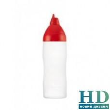 Бутылка для соуса Araven красная (1000 мл)
