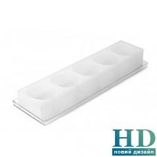 MUL1-60-45 Форма силиконовая для пирожного + подставка Silikomart (d 60 мм, h 45 мм)