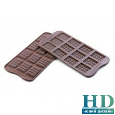 "SCG11 Силиконовая форма ""шоколадка"" Silikomart (38х28х4,5 мм)"