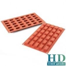 SF181/C Форма силиконовая Silikomart Mini Cakes (30x18 мм, h 16 мм)