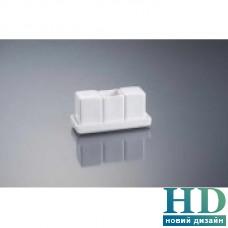 Набор для специй с подставкой квадрат; h-70 мм;