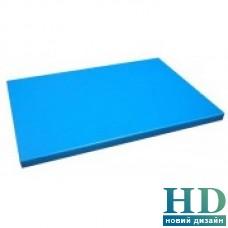 Доска разделочная голубая; 600*400*20 мм;