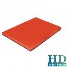 Доска разделочная красная; 600*400*20 мм;