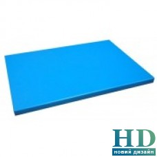 Доска разделочная голубая; 500*350*20 мм;
