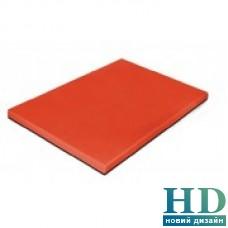 Доска разделочная красная; 500*350*20 мм;