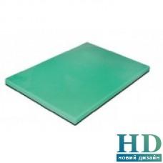 Доска разделочная зеленая; 500*350*20 мм;