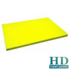 Доска разделочная желтая; 600*400*20 мм;