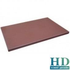 Доска разделочная коричневая; 400*300*20 мм;