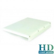 Доска разделочная белая с ограничителем; 400*300*20 мм;