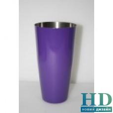Шейкер Бостон фиолетовый 0,8л