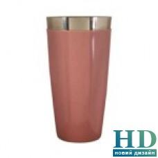 Шейкер Бостон розовый в виниле 0,8л