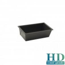 Форма для кекса алюминиевая черная  21*11*7см