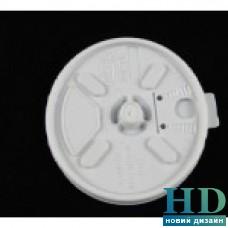 Крышка пластиковая белая универсальная с поилкой для стакана 10J10 и 12FJ10 100 шт/уп