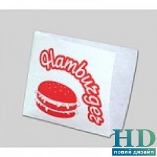 Пакет бумажный белый уголок для гамбургера 170*170мм 2000 шт/ящ.