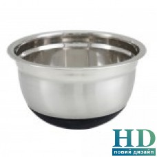 Миска кухонная  c силиконовым дном 1,4л