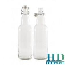 Бутылка 1000мл белая