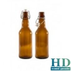 Бутылка 1000мл коричневая