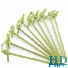 Палочки бамбуковые с узелком 18 см,100 шт/уп