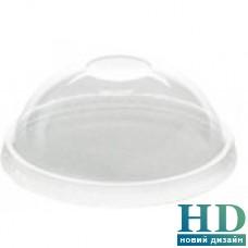 Крышка пластиковая куполообразная к стакану 42312 100 шт/уп