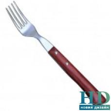 Вилка для стейка с дер. ручкой 9 см