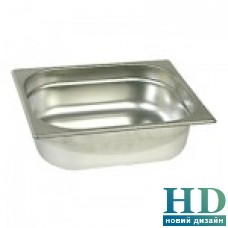 Гастроемкость нержавеющая сталь 1/2-200