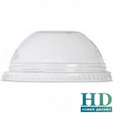 Крышка прозрачная для стакана 42251 41914 40037 42116 купол без отверстия 100 шт/уп
