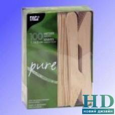 Нож деревянный 16,5 см 100 шт/уп
