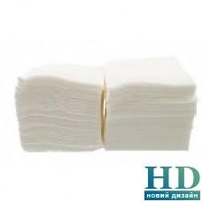 Салфетка барная однослойная белая 24х24см, 500 шт/уп