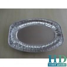 Поднос овальный из алюминиевой фольги 43*28*6см шт