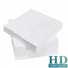 Салфетка белая 2 слоя 24*24 см 200 шт/уп