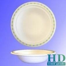Тарелка бумажная суповая 400 мл Chinet Мозаика 50 шт/уп