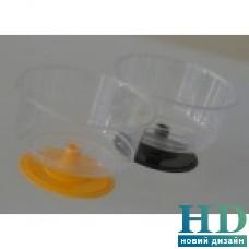 Креманка на прозрачной ножке, стеклоподобная, 200 мл, 90шт/ящ
