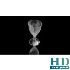 Бокал стеклоподобный для вина на съемной ножке 200 мл 250 шт/уп