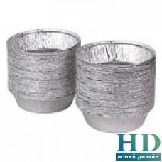 Контейнер алюминиевый круглый 800 мл 100шт/уп