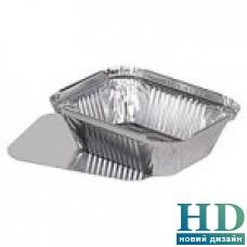 Контейнер алюминиевый прямоугольный 123*93*30 мм, 255 мл 100 шт/уп