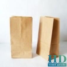 Пакет бумажный без ручек бурый крафт 380*320*150  мм 300 шт/уп