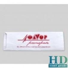Пакет бумажный белый 190*72*0 для столовых приборов 2000 шт
