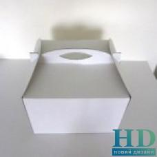 Картонная коробка для торта  300х300х200мм