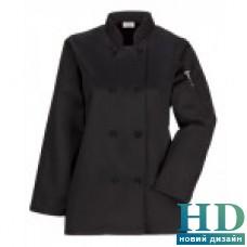 Куртка Ж поварская, рукав 3/4  коттон (L, цвет белый)